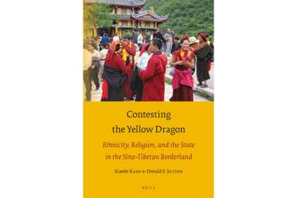 "Book cover for ""Contesting the Yellow Dragon: Ethnicity, Religion and the State in the Sino-Tibetan Borderland""."